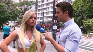 'Gosto de homem recatado', diz vencedora do Miss Bumbum