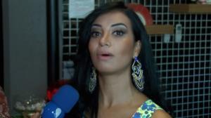 Cinthia Santos garante que n�o pagou para ser rainha no Carnaval