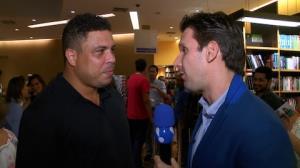 Ronaldo 'Fen�meno' desconversa sobre novo affair