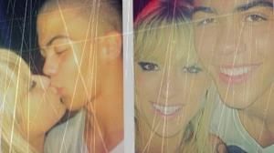 'Foi inoc�ncia dele', diz Milene sobre beijo de Ronald