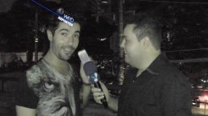 Susana Vieira liga no meio de entrevista com Sandro Pedroso