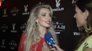 Veridiana Freitas diz que dan�arino ficou 'animado' ao posar com ela