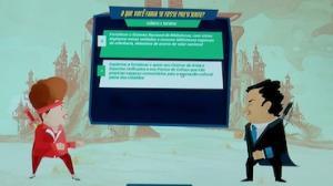 Game simula luta entre candidatos � Presid�ncia