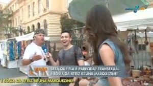 Paulistanos opinam: transexual � parecida com Bruna Marquezine?