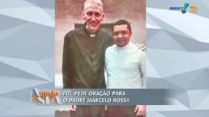 Padre Marcelo Rossi aparece fragilizado em foto