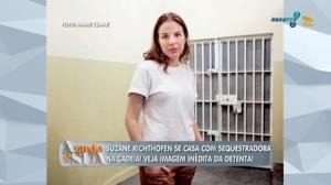 'D� impress�o que Suzane est� arrependida e triste?', comenta Lordello