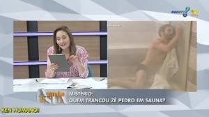Sonia Abr�o revela mist�rio em Imp�rio: quem trancou Z� Pedro em sauna? (1)