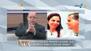 Promotor diz que Suzane � um risco para a vida do irm�o (8)