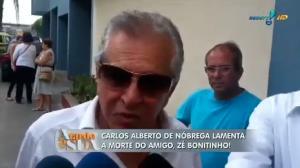Carlos Alberto de N�brega se emociona: 'Jorge Loredo foi grande amigo' (1)
