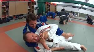 Marcelo do � e Fernando Navarro fazem desafio de jiu-jitsu