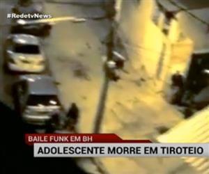 Adolescente morre em tiroteio em baile funk na zona sul de BH