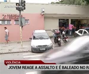 Jovem reage a assalto e é baleado no Rio de Janeiro