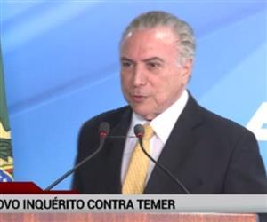 Barroso autoriza inquérito contra Temer