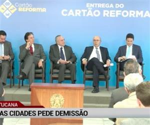 Ministro do PSDB pede demissão do governo Temer
