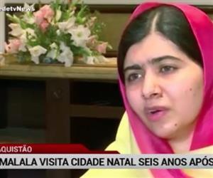 Malala visita cidade natal seis anos após atentado