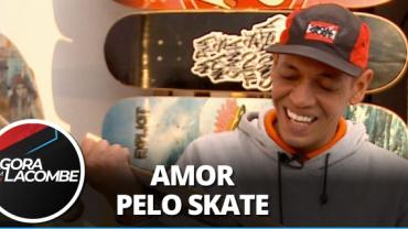 """Testinha conta como ganhou seu primeiro skate: """"A melhor coisa do mundo"""""""