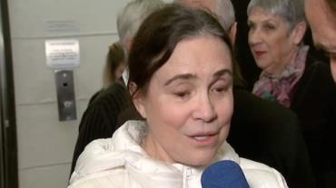 """Regina Duarte sobre Fúlvio: """"Feliz de rever meu primeiro galã"""""""