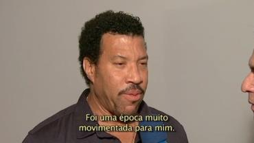 """Lionel Richie fala do sucesso da música """"We are the world"""""""