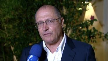 """Possível candidato em 2018, Alckmin diz que vitória de Doria foi """"recado"""""""