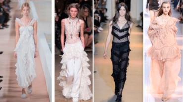 Peças com babados são a nova tendência de moda