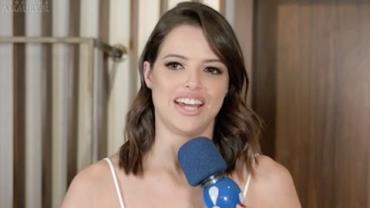 """Agatha Moreira sobre estreia na TV: """"Mandei teste em vídeo e fui aprovada"""""""