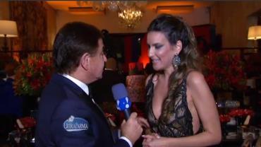 Amaury Jr. mostra detalhes da festa de aniversário de Andréa Guimarães