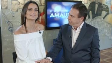 Fernanda Motta relembra sua primeira participação na TV