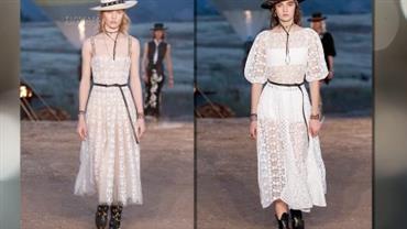 Consultora de moda monta look inspirado em tendência internacional