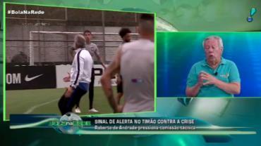 """""""Oswaldo não tem culpa da fase do Corinthians"""", defende Juarez Soares"""