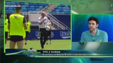 """""""Seleção brasileira é a melhor da América do Sul"""", afirma Mauricio Capela"""
