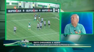 """""""O Palmeiras joga bem porque o Cuca sabe mexer no time"""", diz Juarez Soares"""