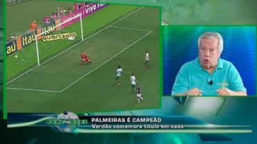 """Juarez Soares: """"Palmeiras mereceu o título sob todos os aspectos"""""""