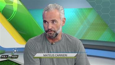 """""""Rodriguinho não enche os olhos, mas é eficiente"""", elogia Mateus Carrieri"""