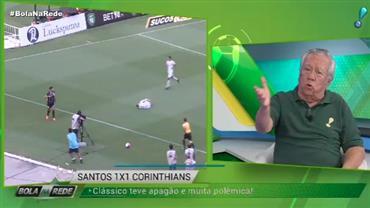 """Juarez Soares: """"Corinthians se perdeu completamente contra o Santos"""""""