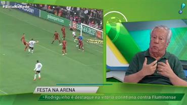 """""""Rodriguinho é um jogador excepcionalmente inteligente"""", diz Juarez Soares"""