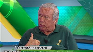 """Juarez Soares: """"Cueva dá mais trabalho do que joga"""""""