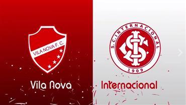 RedeTV! transmite ao vivo Vila Nova x Internacional às 16h30 deste sábado
