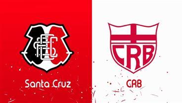 RedeTV! transmite ao vivo Santa Cruz e CRB neste sábado (26)