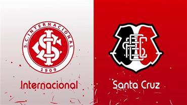 RedeTV! transmite ao vivo Internacional x Santa Cruz neste sábado (30)
