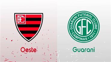 RedeTV! transmite ao vivo Oeste x Guarani neste sábado (7)