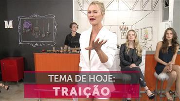 Renata Kuerten lidera debate sobre traição entre famosos