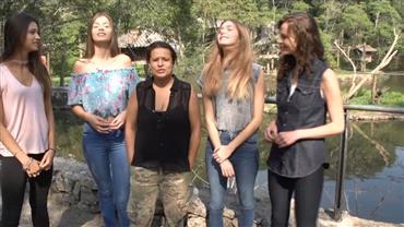 Modelos do Conexão Models visitam Zoológico em São Bernardo do Campo