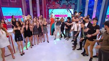 """MC Léo da Baixada invade o """"Desafio Musical"""" do """"Conexão Models"""""""