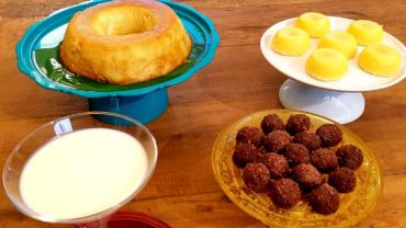 Aprenda a fazer deliciosos doces diets