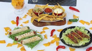 Edu Guedes ensina a preparar receitas mexicanas