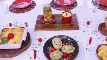 Edu Guedes ensina como preparar receitas variadas com batata