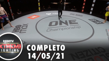 RedeTV Extreme Fighting (14/05/21)   Completo
