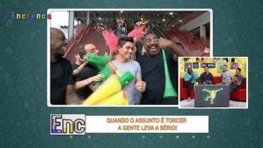 Torcida do Encrenca mostra por qual motivo é a mais animada do Brasil