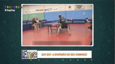 Jogador de ping pong impressiona por habilidade incrível