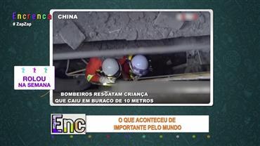 Bombeiros resgatam criança que caiu em buraco de 10 metros